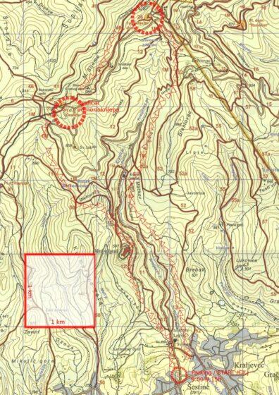 Planirana i odrađena ruta 3. planinarskog izleta adidas škole trčanja