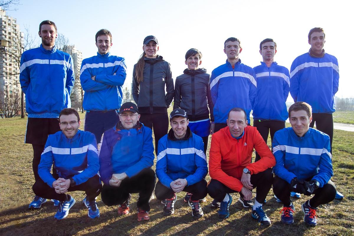 adidas škola trčanja Zagreb - trenerski tim